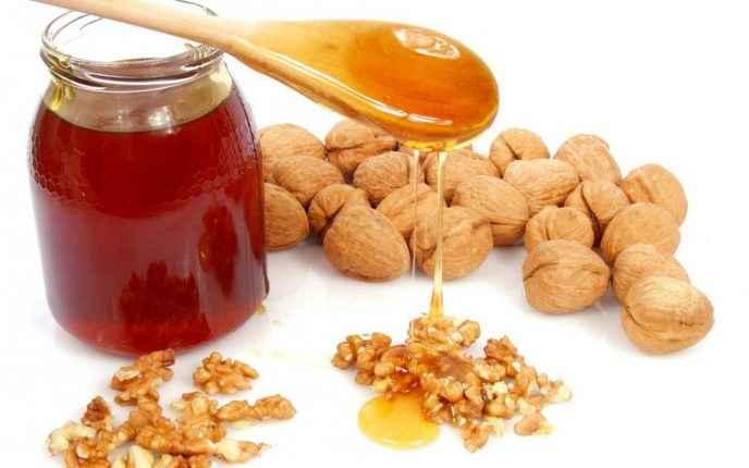 Мед с грецкими орехами при простатите